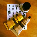 My new sweet smelling Aesop tubes!