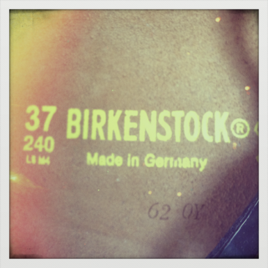 Birkenstock, made in Germany
