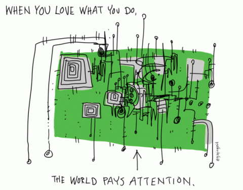 The world pays attention - Hugh