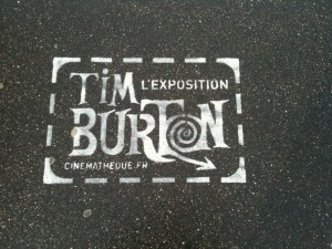 Tim Burton in Paris