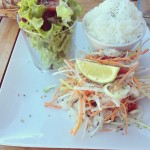 Lunch at Le Café Sud: a fusion between Indo, Thai and French cuisine