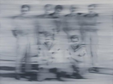 Gerhard Richter at the Centre George Pompidou