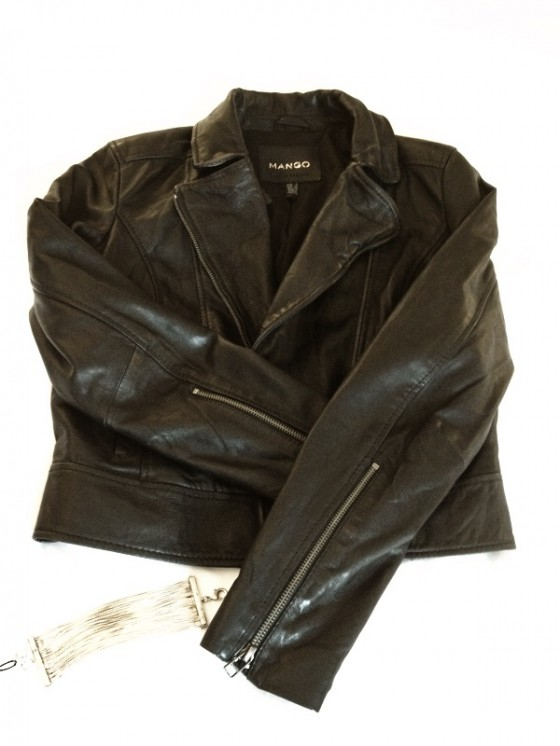 Leather jacket Paris