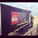 At the Quicksilver Pro, waiting for the opening