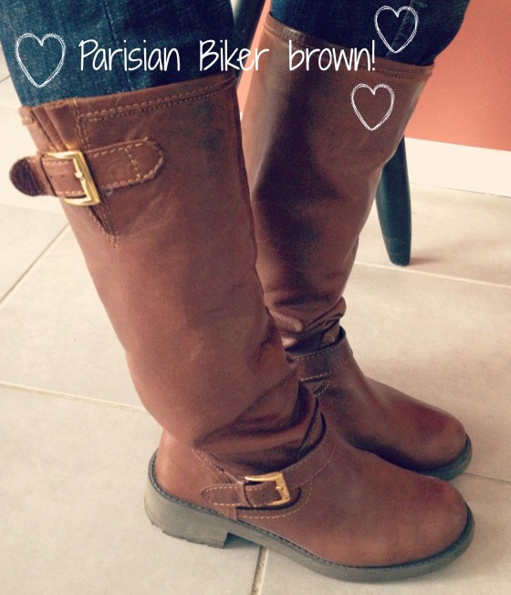 Biker boots Les Petites Parisiennes