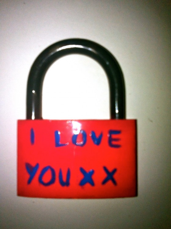 I love you Lock