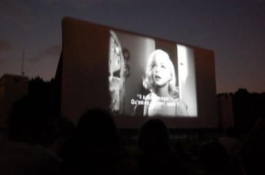 La Villette open air cinema Paris