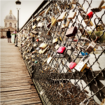 Promenade on the Pont des Arts, Paris