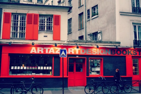 Artazart bookshop Paris