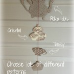 Homemade hanging mobile and my templates
