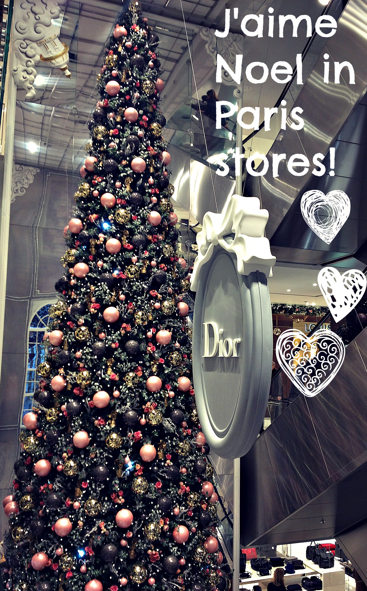 French fashion and trends: Department store festive pre shopping ...