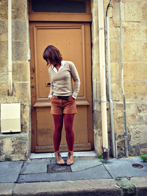 Paris autumn outfit