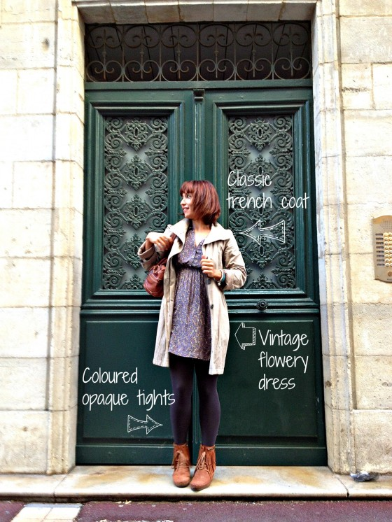 Paris outfit Autumn 2012