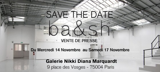 ba&sh save the date