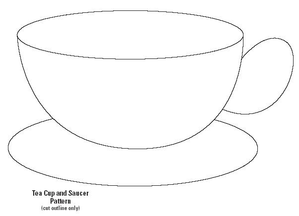 printable tea cup coloring pages - photo#26