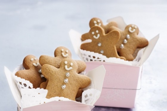 Gingerbread men gift recipe
