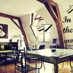 ❤ Paris interior of the week: the Marais bijou flat