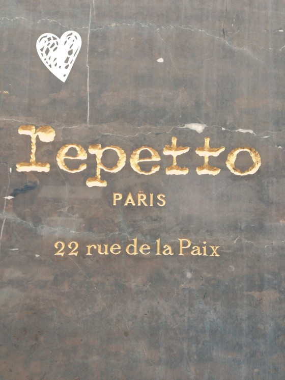 Repetto Shoe Shop Paris