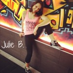 3 questions to real people: Julie, my fitness & dance inspiration