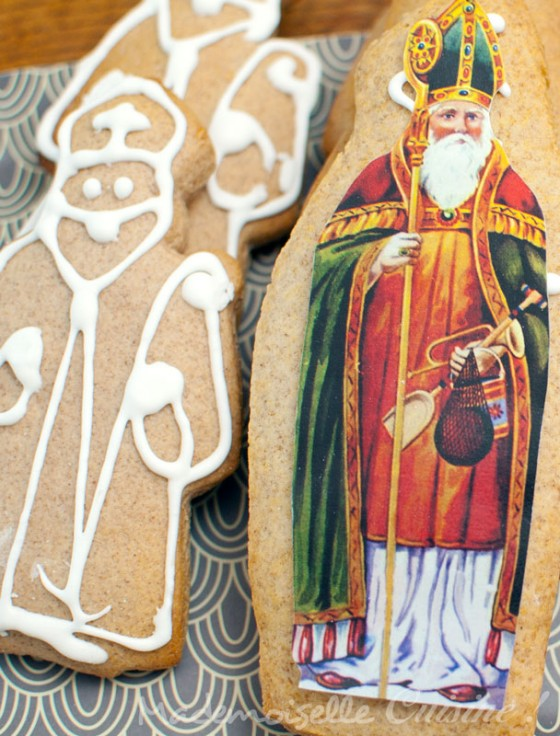 Gingerbread Saint Nicolas recipe