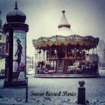 Photo album: Paris in the snow