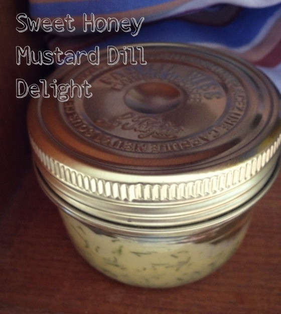 Sweet Honey Mustard Dill Sauce