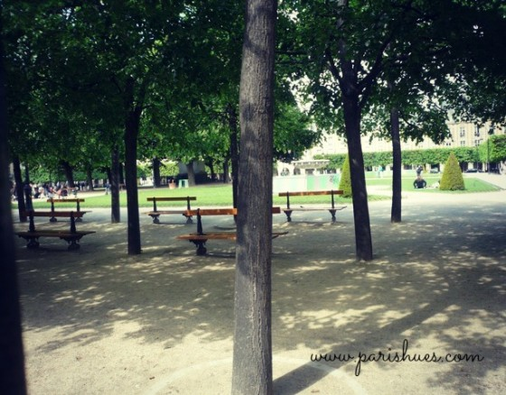 Benches Paris