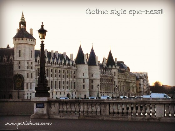 Gothic architecture Paris