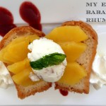 My revisited Baba au Rhum