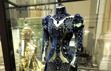 Paris exhibition Haute Couture