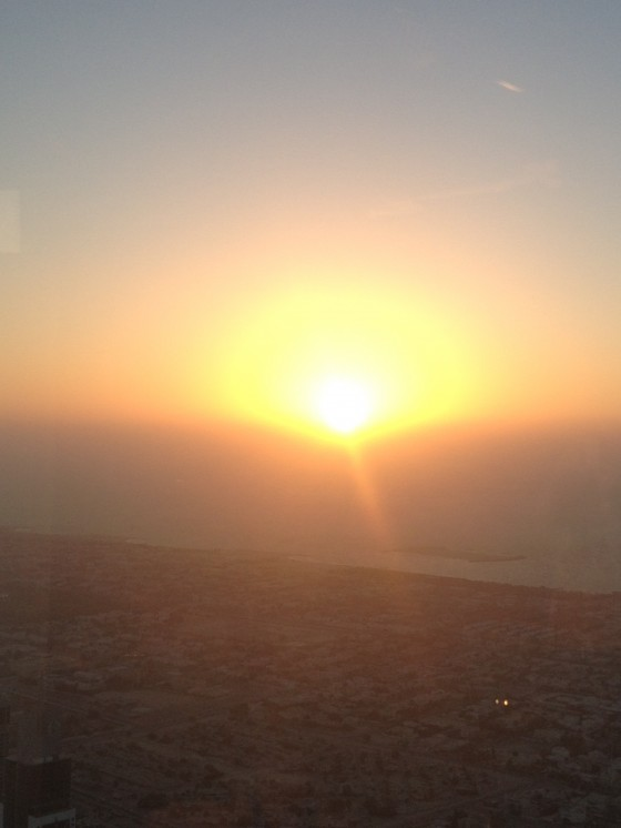 Sunset Dubai