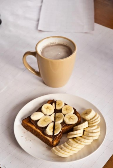 Banana on toast