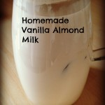 Make your own organic Almond Milk