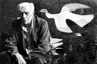 George Braque portrait
