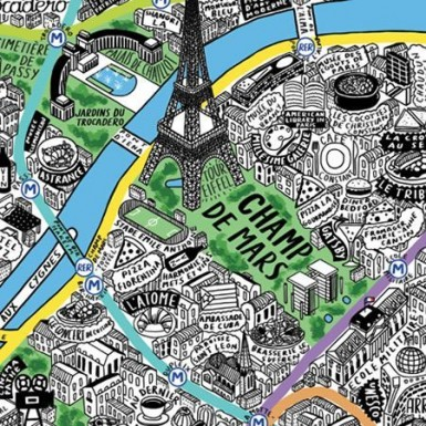 Paris cool MAPS